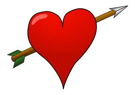 imagenes de corazones con flechas imagen coraz 243 n con flecha img 24634