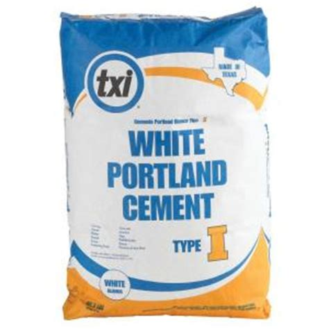 txi 92 1 2 lb type i white portland cement 4613 the