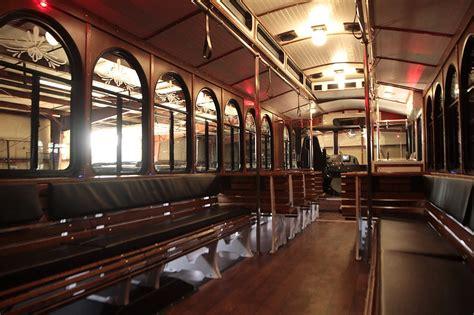 trolley   passenger    limo