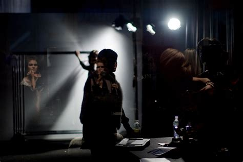 behind the black curtain toronto fashion week the arts critic s view from behind