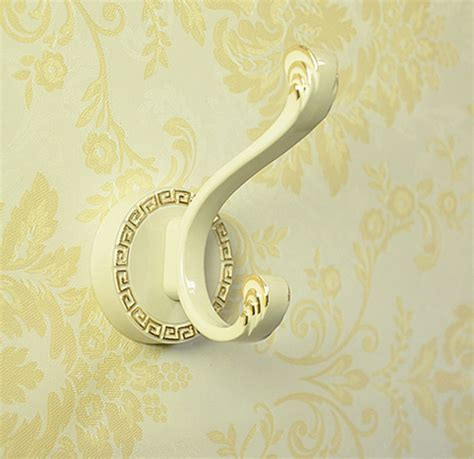 Decorative Wall Hook by Bathroom Accessories European Zinc Alloy Robe Hooks