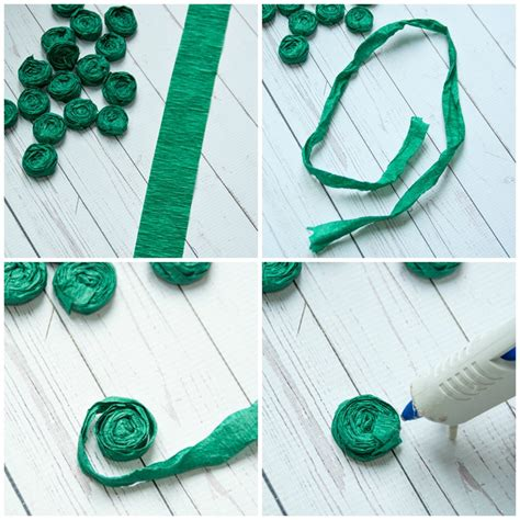 How To Make Crepe Paper Rosettes - how to make a topiary with paper rosettes