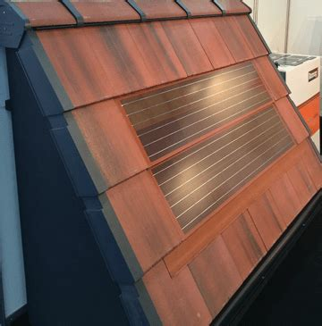 standard solar residential solar pv tiles fit alongside standard roof tiles roofing