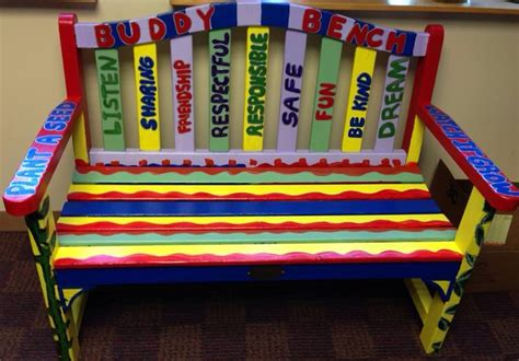 buddy bench at school green farms elementary school christian s buddy benchchristian s buddy bench