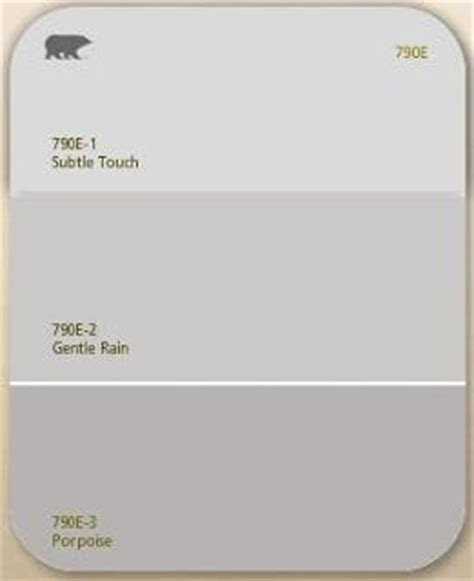 behr gentle soft grey as the neutral color for living room dining room kitchen for the