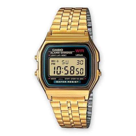 orologio casio dorato orologio casio unisex a159wgea 1ef acciaio pvd oro
