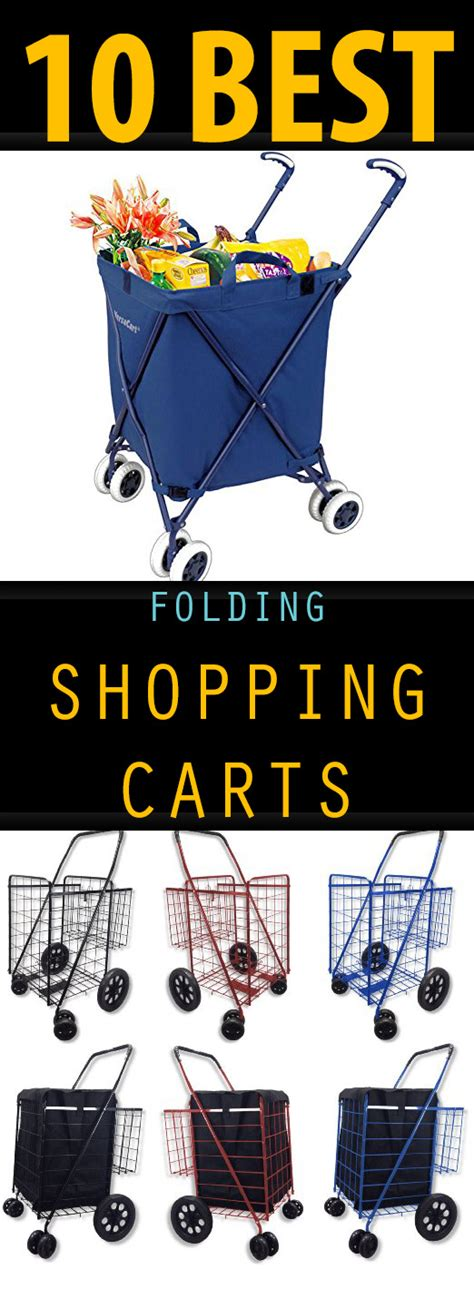 best shopping carts 10 best folding shopping carts must tips
