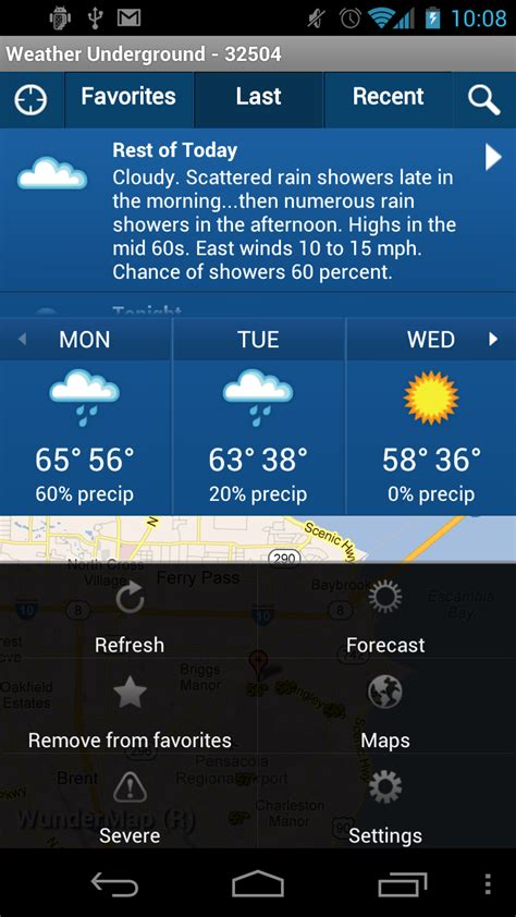 mobile wunderground weather underground for android android central
