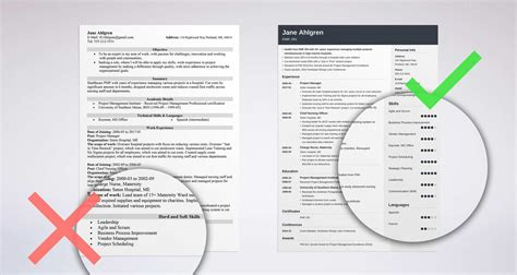 examples of best skills to include on a cv cv plaza
