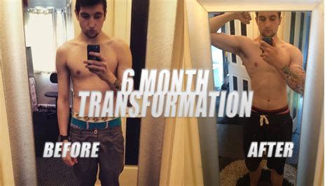 6 month transformation home workout