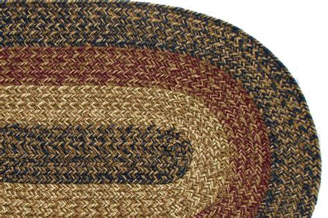 florida charles navy burgundy braided rug