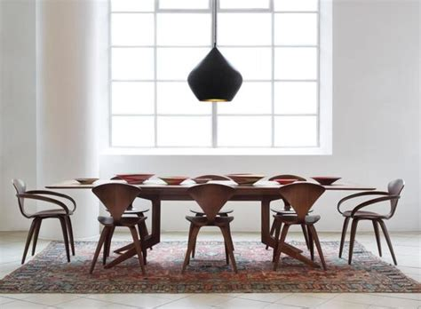 Tom Dixon Dining Table We The Beat Light By Tom Dixon A Walnut Dining Table By Matthew Or A Set Of Cherner