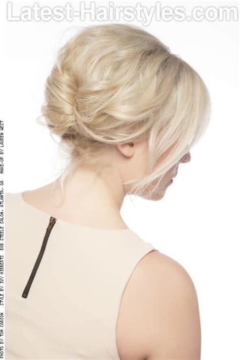 bump hairstyles for medium length hair the 15 most beautiful updos for medium length hair