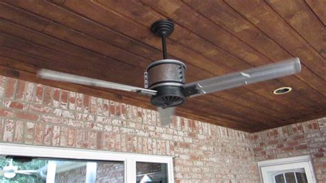 galvanized outdoor ceiling fan duluth 60 in indoor outdoor galvanized steel ceiling fan