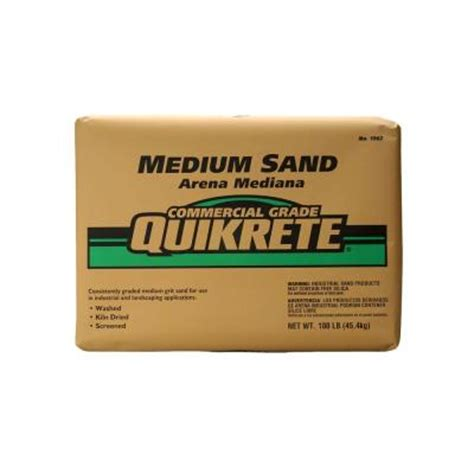 quikrete 100 lb commercial sand 196201 the home depot
