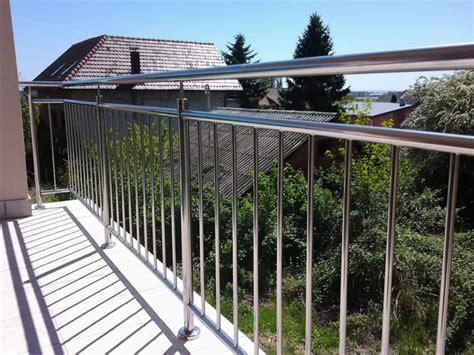nirosta balkongeländer balkongel 228 nder und br 252 stungen aus edelstahl va nirosta