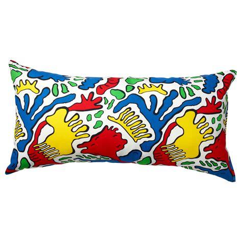 sofakissen ikea avsiktlig cushion multicolour 30x60 cm ikea