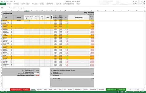 Vorlage Zeiterfassung Schweiz Arbeitszeiterfassung In Excel Libreoffice Und Openoffice