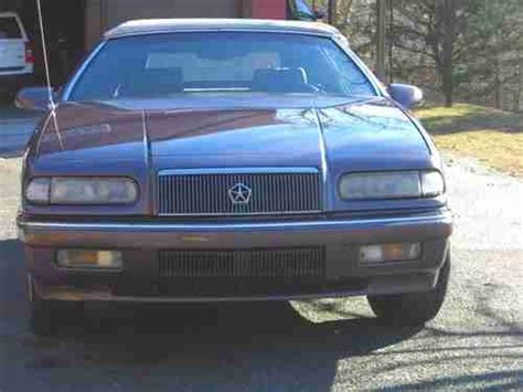 auto air conditioning repair 1995 chrysler lebaron parental controls purchase used 1995 chrysler lebaron lx convertible 2 door 3 0l in front royal virginia united