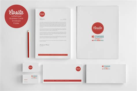 identity design template cosita corporate identity stationery templates on