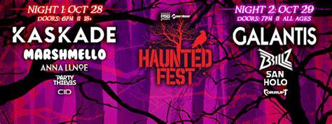 san holo setlist haunted fest columbus 2016 raannt