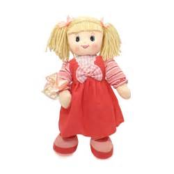 Thank You Gift Basket Rag Doll Toy From Friars Uk