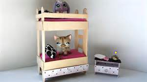 how to make a tiny bunk bed with drawer for lps littlest build your own wooden bunk beds image mag