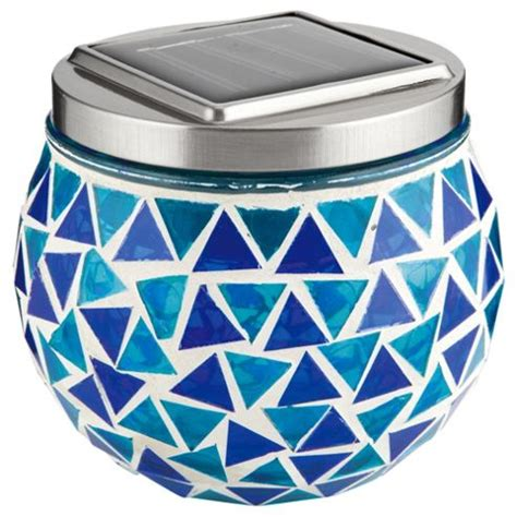 Buy Tesco Blue Mosaic Solar Table L From Our Solar Tesco Solar Lights
