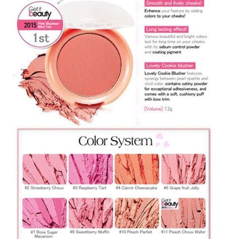 Harga Etude House Cookie Blusher etude house lovely cookie blusher daftar update harga