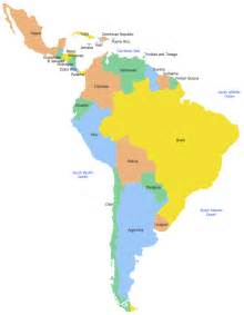 map of south america including mexico geo map south america mexico
