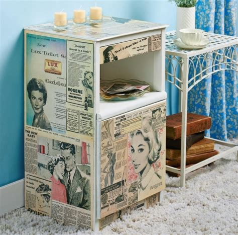 Decoupage Cabinet - homemaker magazine forum baking free downloads