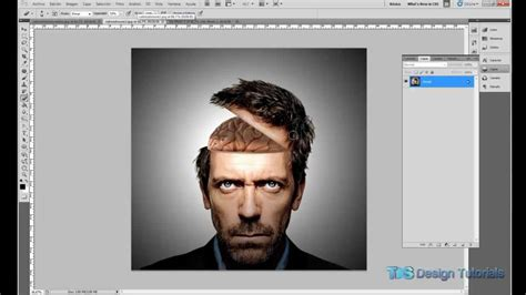 make layout on photoshop cs5 photoshop cs5 tutorial open head effect tds design