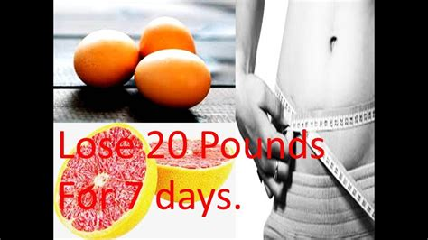 The 7 Day Grapefruit Detox Weight Loss Diet Recipe Ideas by Diet With Eggs And Grapefruit Lose 20 Pounds For 7 Days