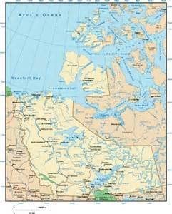 northwest map northwest territories map maps of northwest