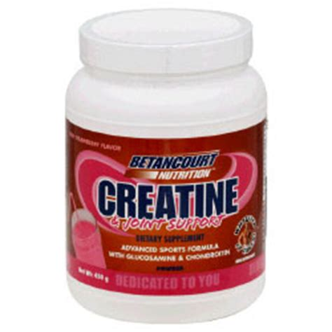 creatine joint betancourt nutrition products