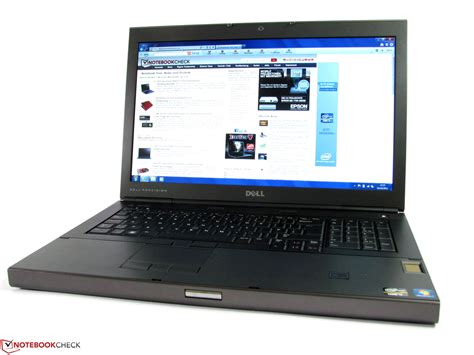 Laptop Dell Precision M6600 review dell precision m6600 notebook notebookcheck net
