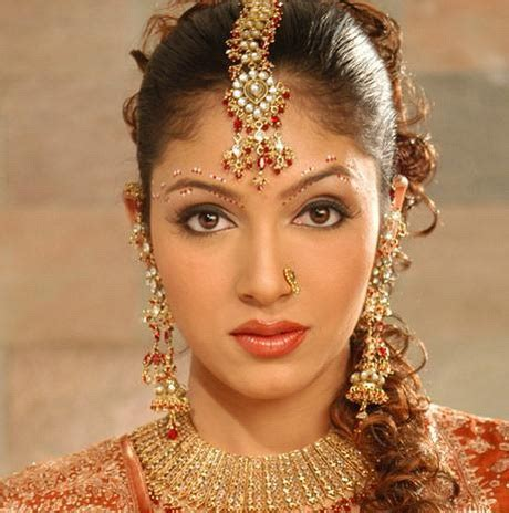 Bridal Hairstyles Hindu | hindu bridal hairstyles