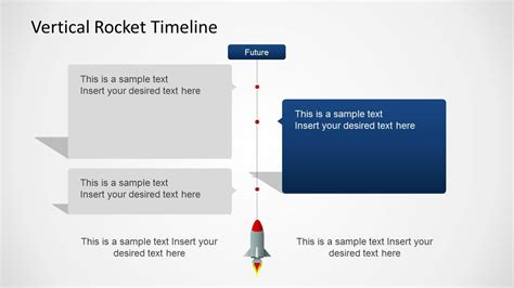 Vertical Rocket Timeline Template For Powerpoint Slidemodel Vertical Timeline Template Powerpoint