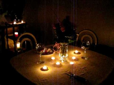 Date Zu Hause by Dinner Setup
