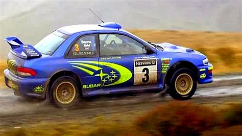 best rally best rally car 1998 subaru impreza wrc rally