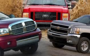 Which Truck Is Better Ford Chevy Or Dodge 2016 Dodge Vs Chevy Vs Ford Diesel Trucks 2016 Car