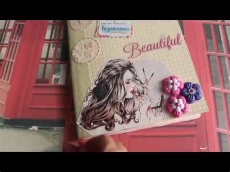 tutorial libreta scrapbooking libreta o cuaderno alterado tutorial scrapbook youtube