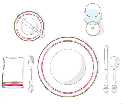 simple table setting how to set a table the butter bay