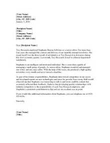 Business Reference Template Word by Best Photos Of Basic Letter Of Recommendation Template