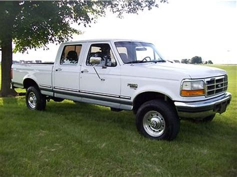 f250 short bed for sale sell used 1997 ford f250 4x4 7 3 diesel auto crew cab