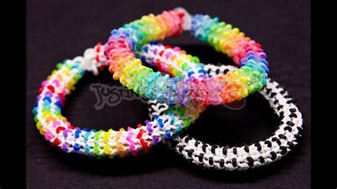 How To Make A Rainbow Loom Hexadots Bracelet Switch Loop