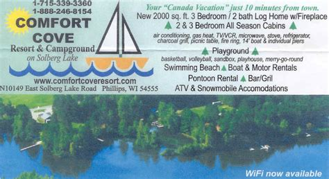 Northern Wisconsin Lake Resorts With Cottage Rentals And