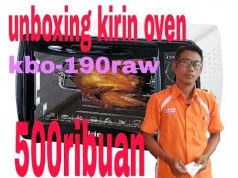 Microwave Kirin Kbo 190raw unboxing microwave kirin oven kbo 190raw