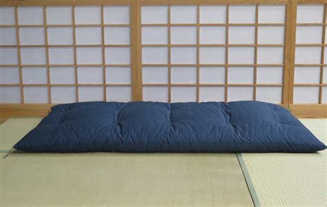 Organic Japanese Futon by Single Blue Organic Futons Japanese Futon