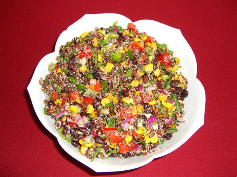 protein quinoa salad high protein quinoa salad